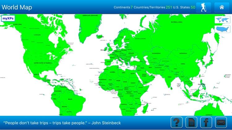 Travel Goal Map screenshot-3