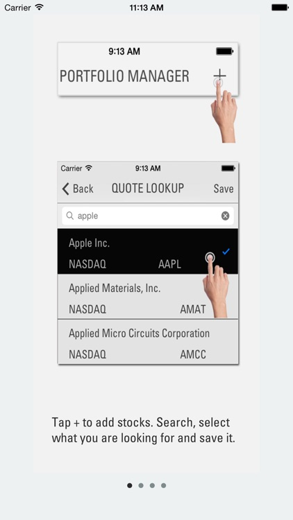 Portfolio Manager App screenshot-1