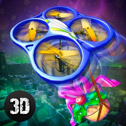 Christmas Cartoon Quadcopter Drone Simulator Full