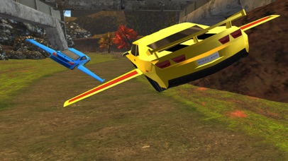 3D Flying Car VR Racing Simulator 2017 screenshot 1