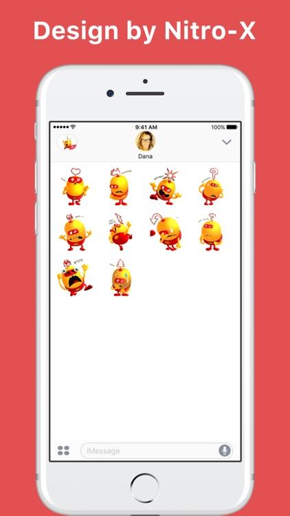 Cute Emoji stickers by Nitro-X