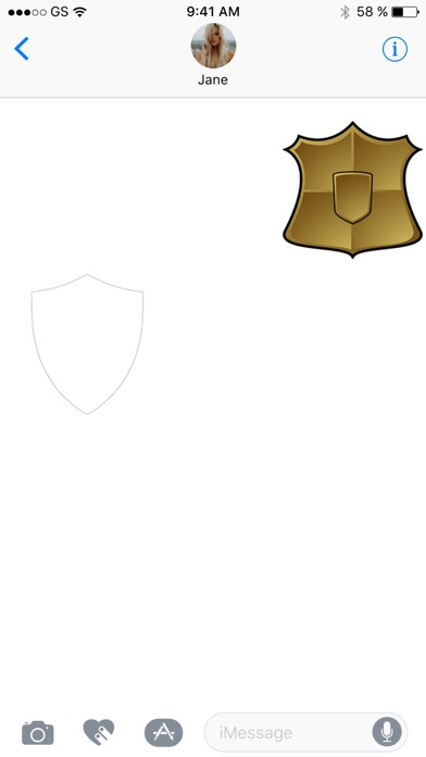 Shields Drei Sticker PackScreenshot von 3