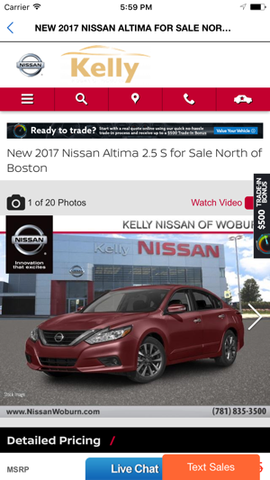Kelly Nissan of Woburn on the App Store