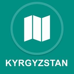 Kyrgyzstan : Offline GPS Navigation