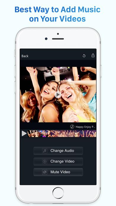 Video Editor Music – Movie Maker to Editing Videos screenshot one
