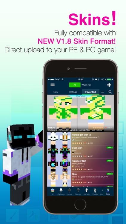 Seeds Pro For Minecraft - Server, Skins, Community