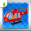 Fire Helicopter - Firefighter Kids Game