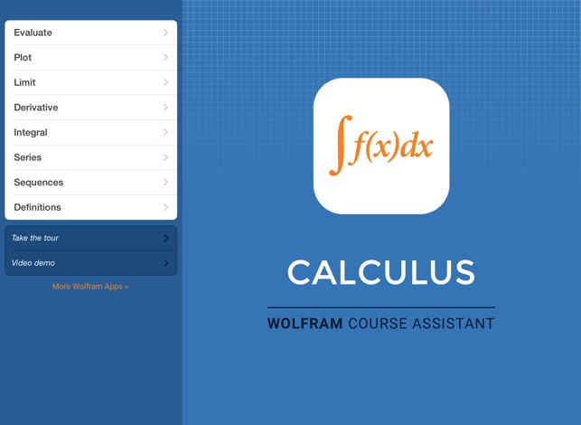 Wolfram Calculus Course Assistant on the App Store