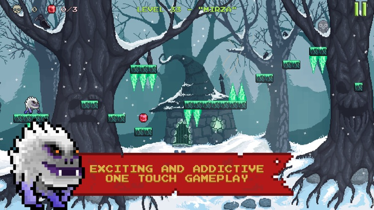 Monster Run. Free pixel-art platformer screenshot-0