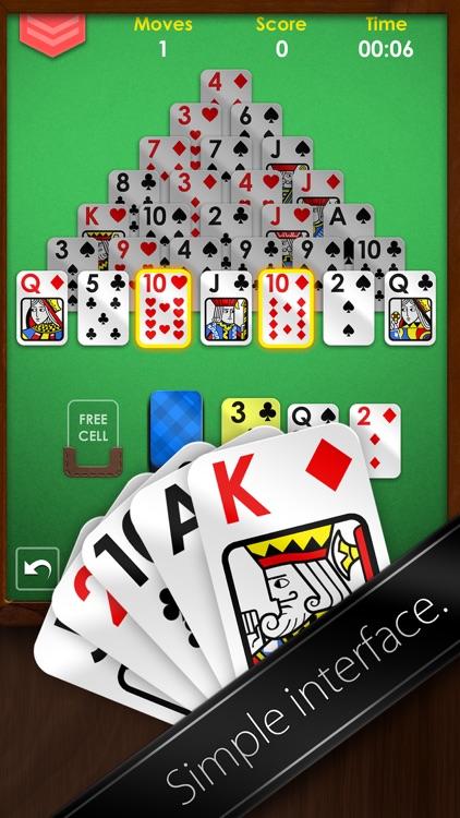 Pyramid Solitaire Premium - Free Card Game