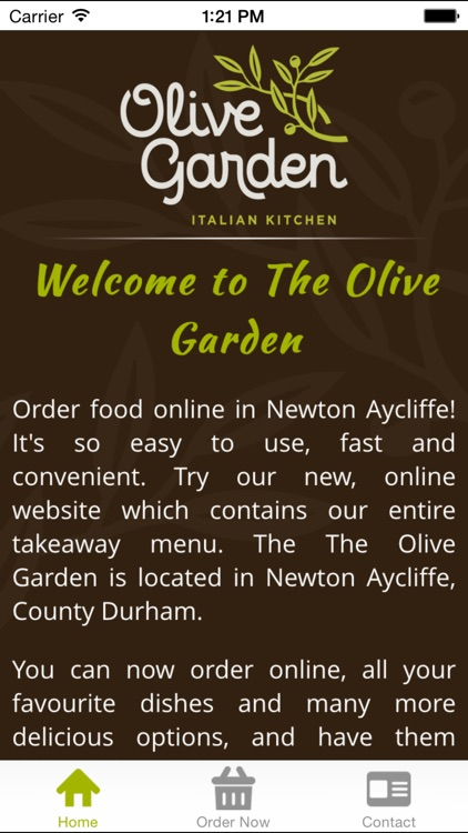 The Olive Garden Newton Aycliffe