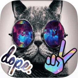Hipster Camera Sticker: Photo Editor