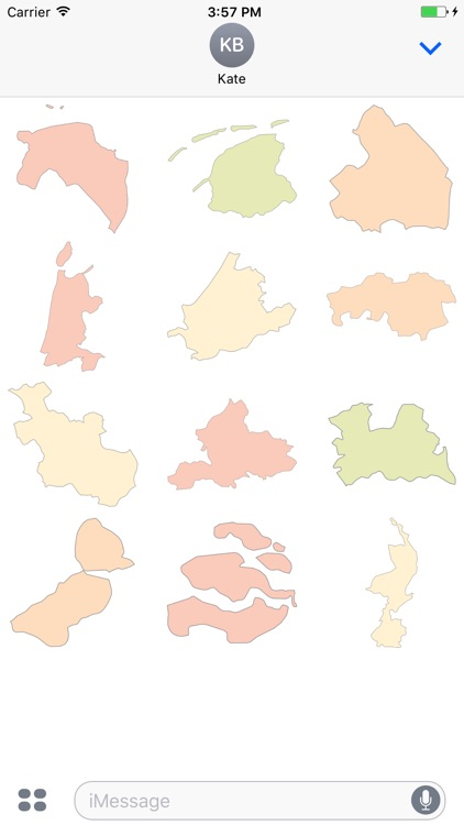 Dutch Provinces (stickers)