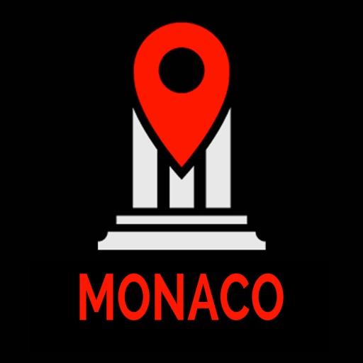 Monaco Travel Guide Monument Tracker - Offline Map