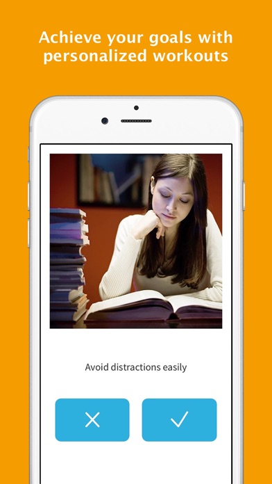 Memorado Brain Training for Memory & Mindfulness app image