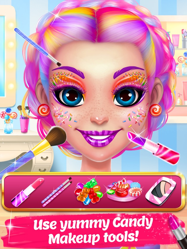 Candy Makeup Beauty Game on the App Store