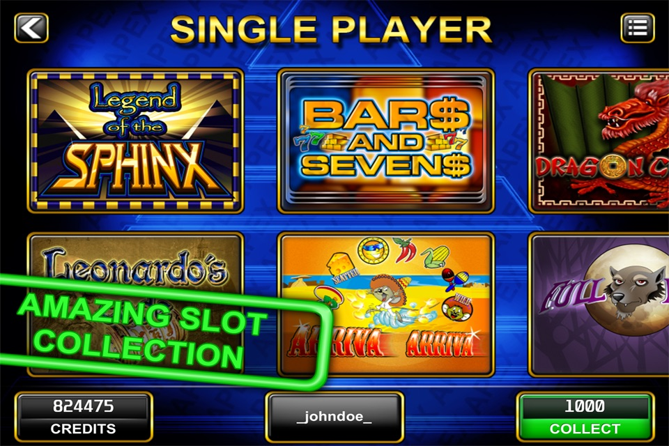 Apex Slot Games Online Free