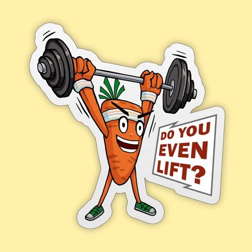 Motivational Gym Carrot