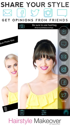 Hair Style App Hairstyle Makeover On The App Store