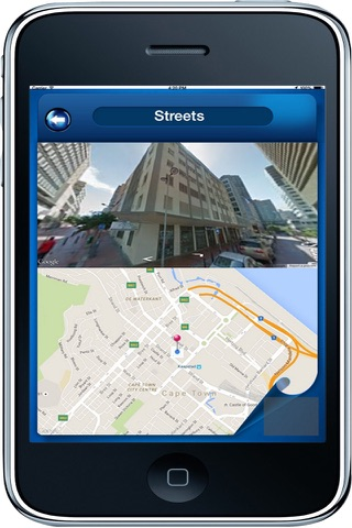Cape Town South Africa - Offline Maps navigator - náhled