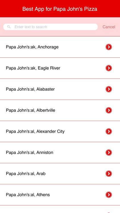 Best App for Papa John's Pizza