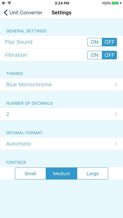 Unit Converter Tool Lite screenshot-4