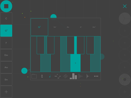 iOS Musician Apps: Patterning : Drum Machine