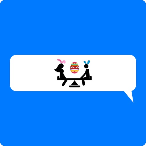 Animated Easter Stickmen