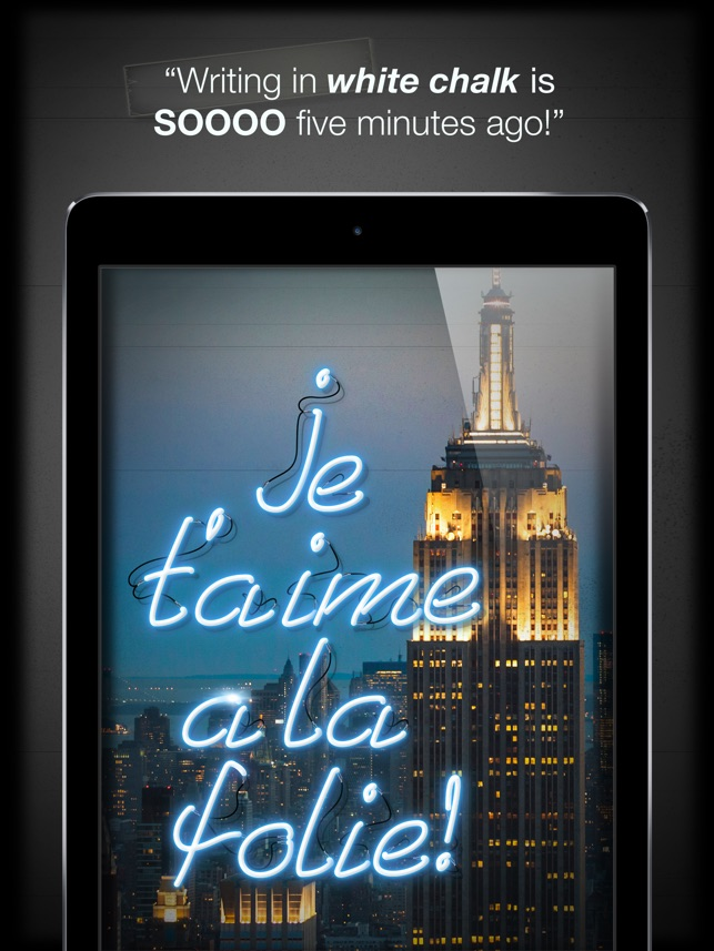 Light Write™ Decorate your photos for the holidays on the App Store