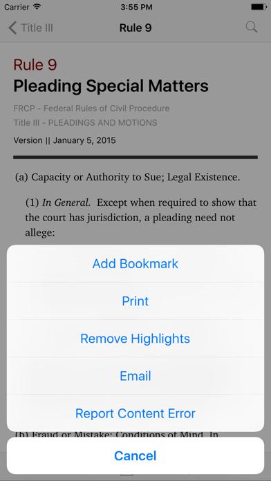 Federal Rules of Civil Procedure (LawStack's FRCP)のおすすめ画像3