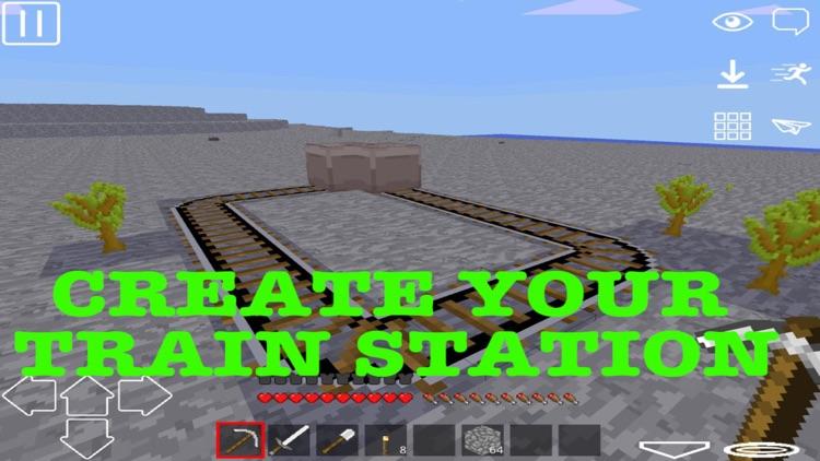 Exploration: Pixel WorldCraft 3D Game screenshot-3