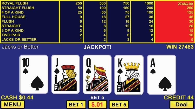 Video Poker Casino - Vegas Games