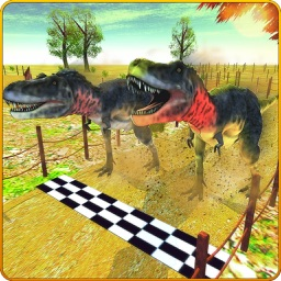 Dinosaurus van Het rennen Simulator