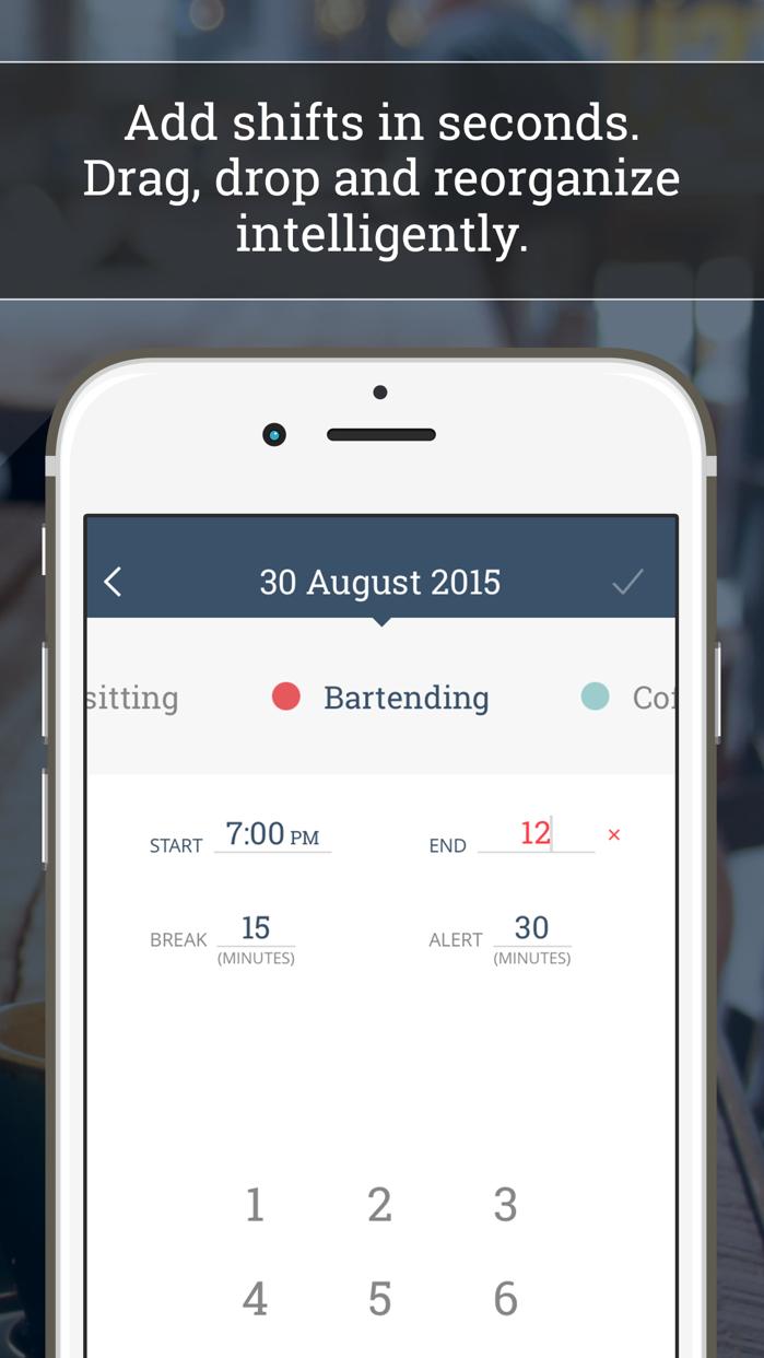 WorkTime: Work Shift Calendar Screenshot