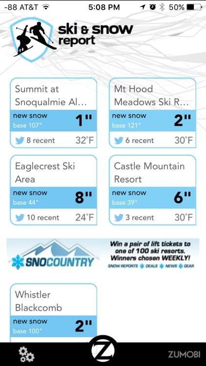 Ski and Snow Report