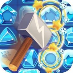 Frozen Winter Crush Match - Fun Puzzle Game