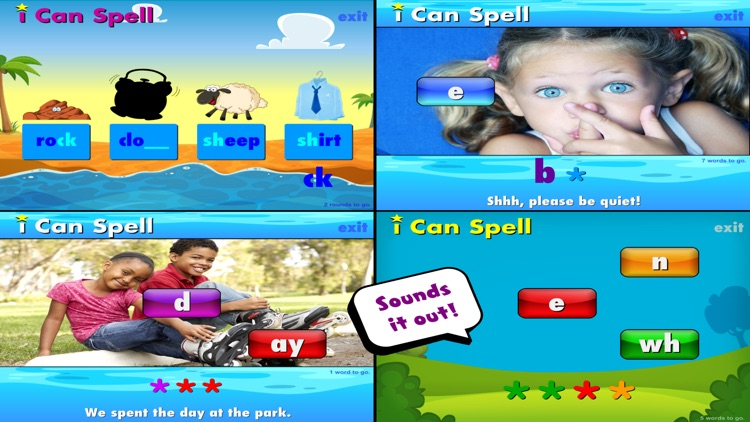 i Can Spell with Phonics screenshot-0