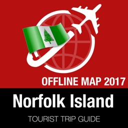 Norfolk Island Tourist Guide + Offline Map