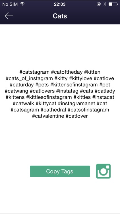 Hashtag to get likes for Instagram