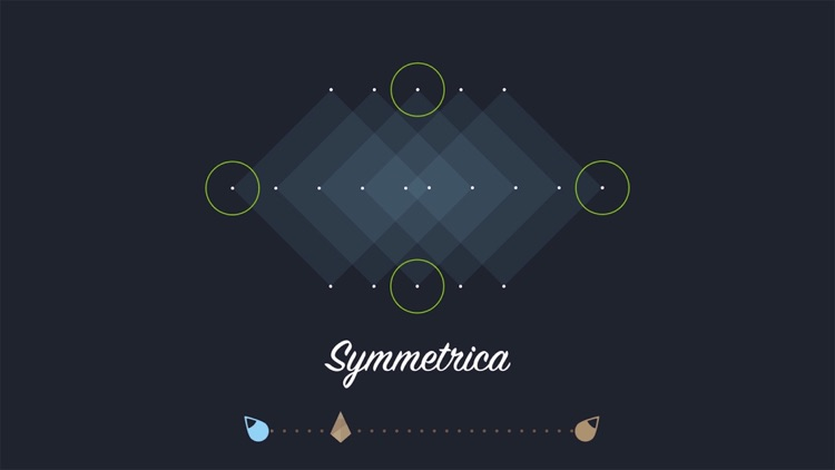 Symmetrica - Minimalistic arcade game screenshot-2