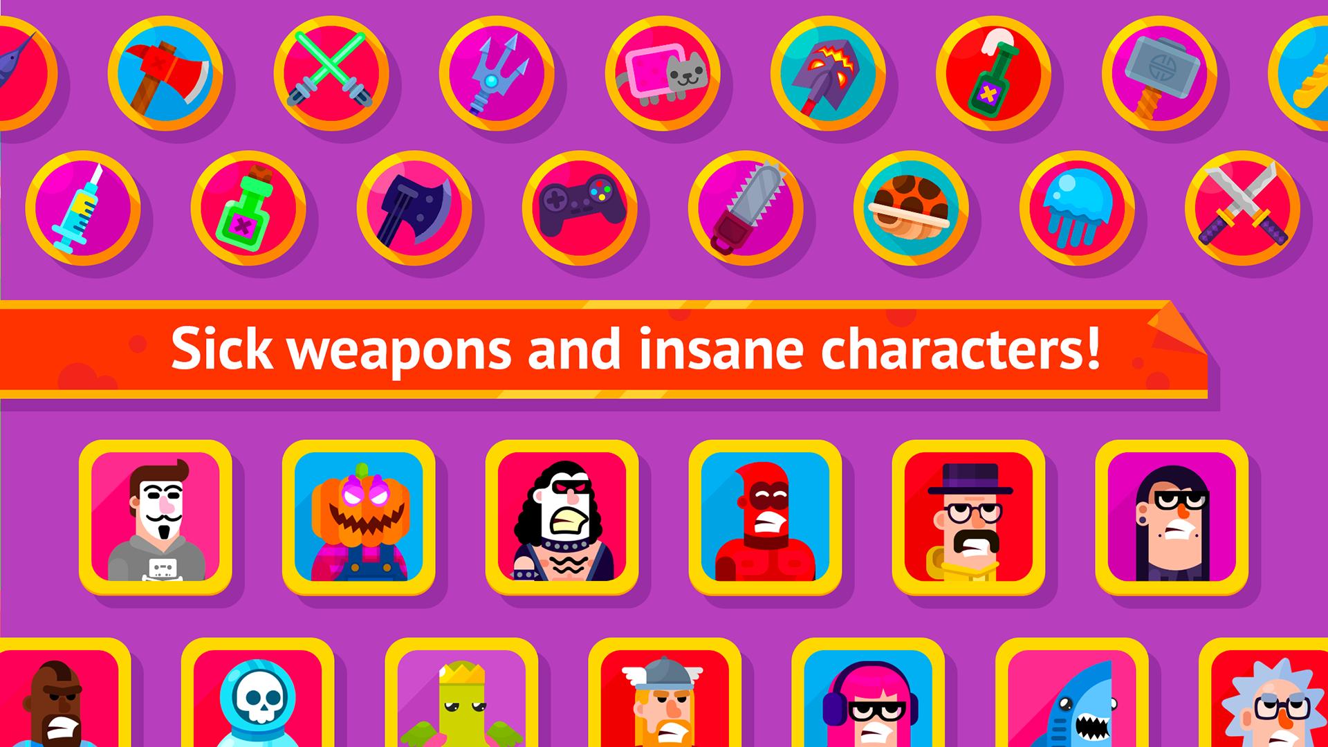 Bowmasters (Ad Free) screenshot 14