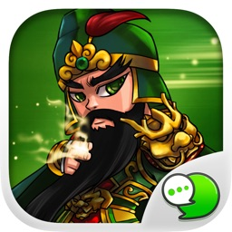 3Kingdoms Stickers Emoji Keyboard By ChatStick