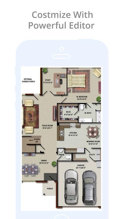 Home FloorPlan Designs Catalog screenshot-3