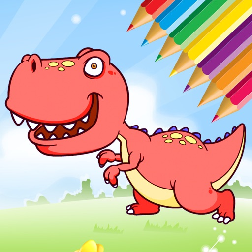 Dinosaur Coloring Book - Dino Drawing for Kids