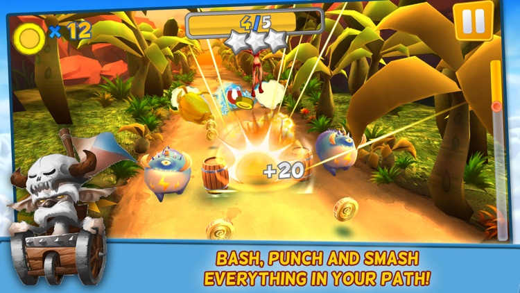 Monsters on the Run:  Smash and Go! screenshot-4