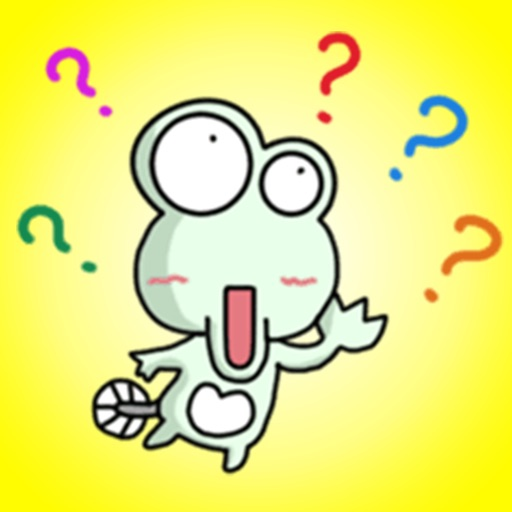 Funny Green Toad - Super Stickers!! app logo