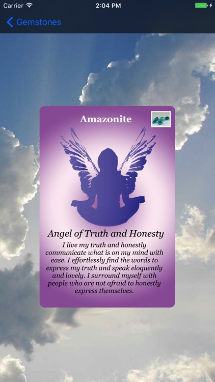 Angel Gemstone Oracle Cards