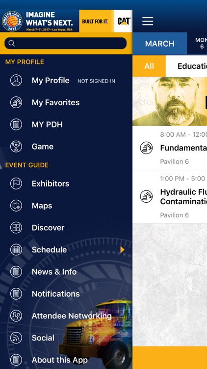 CONEXPO-CON/AGG and IFPE 2017 Official Mobile App screenshot-3