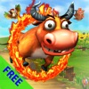 Bull King of circus: one touch action & racing game for jump & run