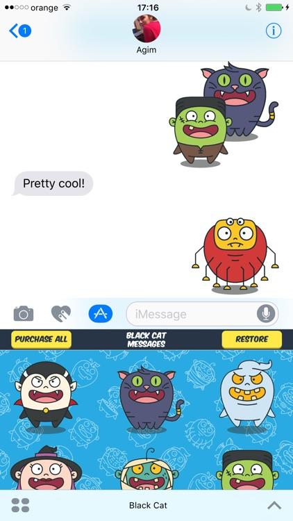 iSticker App. Send Stickers in iMessage Chat. screenshot-3